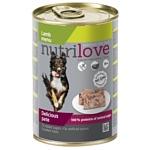 Nutrilove (0.4 кг) 1 шт. Dogs - Delicious pate - Lamb menu