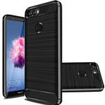Case Brushed Line для Huawei P Smart (черный)