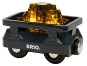 Brio Грузовой вагон с золотом 33896