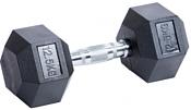 American Fitness гексагональная обрезиненная 12.5 кг