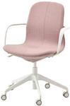 Ikea Лонгфьелль 693.204.76 (гуннаред светлый коричнево-розовый/белый)