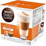 Nescafe Dolce Gusto Latte Macchiato Caramel капсульный 16 шт (8 порций)