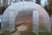 Завод теплиц Гарант Фермер-5 10 м (6 мм поликарбонат)