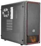 Cooler Master MasterBox E500L (MCB-E500L-KA5N-S01) w/o PSU Black/red
