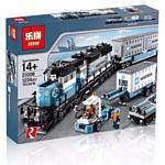 Lepin Creator 21006 Товарный поезд Майорск аналог Lego 10219