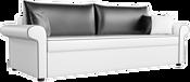 Mebelico Милфорд 60787 (белый/черный)