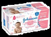 Johnson's Baby Нежная забота 128 штук