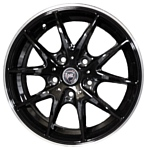 NZ Wheels F-34 6.5x16/5x114.3 D66.1 ET47 BKPL