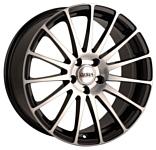 Disla Turismo 8x18/5x120 D72.6 ET42 Black Diamond