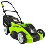 Greenworks 2500007 G-MAX 40V 40 cm 3-in-1