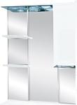 Misty Зеркальный шкаф Жасмин - 55 (белый)