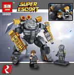 Lepin Super Escort 38005 Костюм Железного Человека MK-25