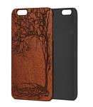 Case Wood для Apple iPhone 7/8 (сапеле, зима)