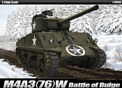 Academy Tанк M4A3 (76)W Battle of Bulge 1/35 13500