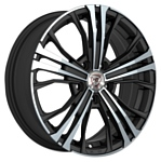 NZ Wheels F-4 6.5x16/5x114.3 D60.1 ET45 BKF