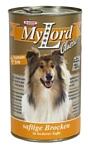 Dr. Alder МОЙ ЛОРД КЛАССИК утка + индейка кусочки в желе Для взрослых собак (1.24 кг) 12 шт.
