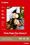 Canon Photo Paper Plus Glossy II PP-201 A3 260 гм2 20 л