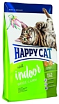 Happy Cat (10 кг) Supreme Indoor Weide-Lamm
