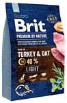 Brit (3 кг) Premium by Nature Light Turkey & Oats
