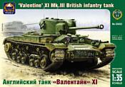 ARK models AK 35032 Английский танк «Валентайн» XI
