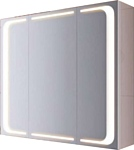 Aqwella Шкаф с зеркалом Милан (белый) (Mil.04.08)