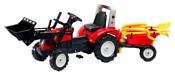 Falk Трактор-экскаватор с прицепом (1051RM/1057RM)