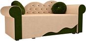Mebelico Тедди-2 170x70 60502 (бежевый/зеленый)