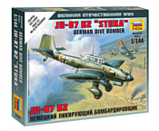 "Звезда Немецкий бомбардировщик Ju-87 B2 ""Stuka"""