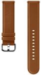 Samsung кожаный для Galaxy Watch Active2/Watch 42mm (коричневый)