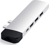 USB type-C (двойной) - USB 3.0/USB Type-C/HDMI/microSD слот/LAN