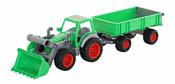 Полесье Фермер-техник трактор-погрузчик с прицепом 8817