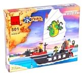 Enlighten Brick Пираты 301 Пиратский корабль
