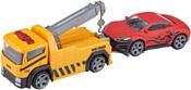 Teamsterz Эвакуатор с машинкой (желтый) 1373872