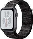 Apple Watch Series 4 Nike+ 40mm (алюминий серый космос/черный)