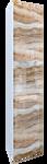 MarkaOne Шкаф-пенал VisBaden 30П У73177 (левый, оникс)