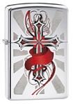 Zippo Cross with Wings (28526-000003)