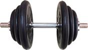 Pro energy Разборная с обрезиненными дисками (хром. гриф) - 17.5 кг