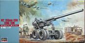 Hasegawa Артиллерийское орудие M2 155mm Gun Long Tom
