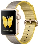 Apple Watch Series 2 38mm Gold with Woven Nylon (MNP32)