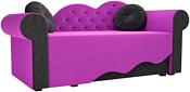 Mebelico Тедди-2 170x70 60508 (фиолетовый/черный)