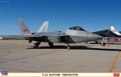 Hasegawa Истребитель F-22 Raptor Prototype