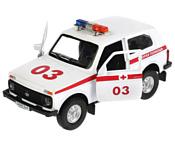 Технопарк Lada 4x4 Скорая LADA4X4-AMB-SL