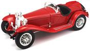 Bburago Alfa Romeo 8C 2300 Spider Touring 1932 18-12063 (красный)