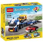 Decool Architect 3114 Транспортировщик автомобилей 3 в 1