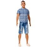 Barbie Ken Fashionistas Doll 13 Distressed Denim - Broad