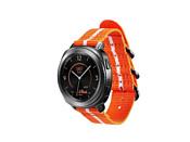 Samsung Premium Nato для Galaxy Watch 42mm & Gear Sport (оранж.-белый)