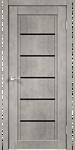 Velldoris Next 1 90x200 (муар светло-серый, лакобель черный)