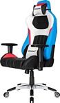 AKRacing Premium (голубой/белый/черный)