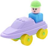 Полесье Юный путешественник 55330 Катер (фиолетовый)