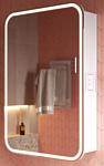 Alavann Шкаф с зеркалом Lana 55 1776 (белый)